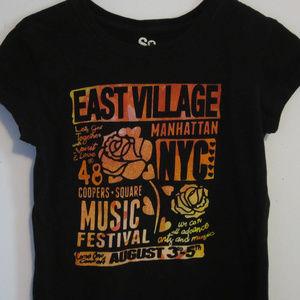 SO East Village Music Festival Baby Doll T-Shirt